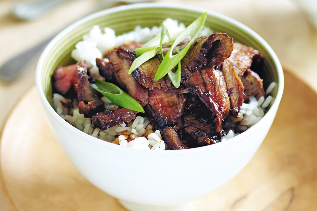 beef teriyaki rice